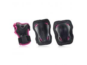 rollerblade bladegear junior 3 pack pink acdae8ed3e0c071af7e0ff7656a47899