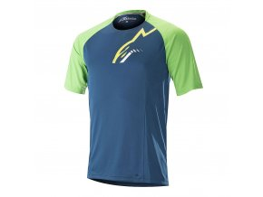 as jersey trailstarSS poseidonblusummergreen