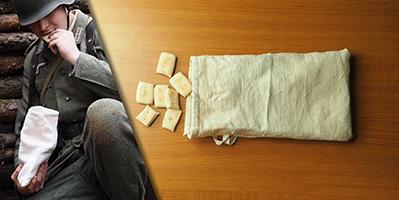 How to bake war crackers (Zwieback)