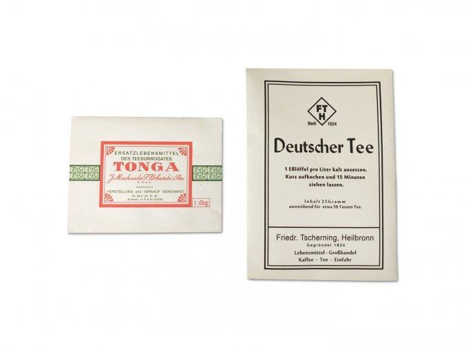 WW2 German tea set tonga deutscher tee