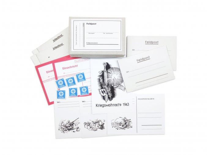 WW2 German wehrmach feldpost set envelope stamps post box