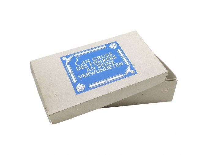 Verwundete gift box führers greetings packet führerpaket lebensmittel wounded WW2 German wehrmacht soldier