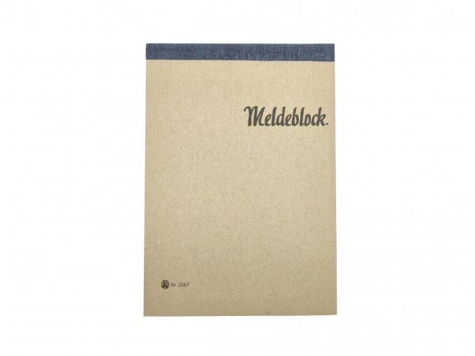 WW2 German Meldeblock map case block notepad wehrmacht