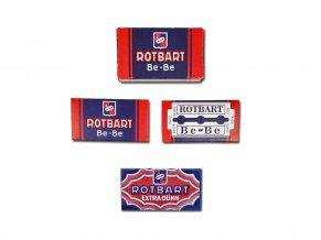 WW2 Rotbart German razor blades extra dunn bebe wehrmacht hygiene