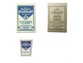 WW2 German Saccharin package for wehrmacht war food ration