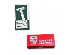 Rotbart & Rogerit razor box wehrmacht war pocket litter