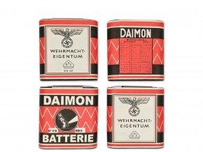Wehrmacht Daimon Batteries set WW2