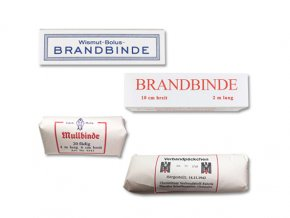 WW2 DRK WWII German Paper bandages brandbinde