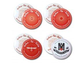 WW2 German Scho-ka-kola stickers set
