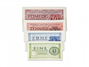 WW2 Reichsmark banknotes reproduction Wehrmacht cash salaries