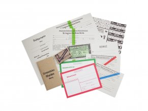 Wehrmacht offizer desk paperwork WW2 German reproduction Warcopy