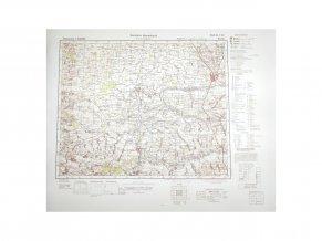 German WW2 Kursk Map reproduction Deutsche Heereskarte 1941 Warcopy Ukraine Wehrmacht detail