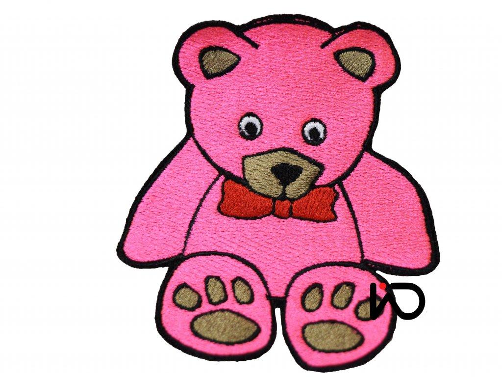nasivka medvidek ruzovy