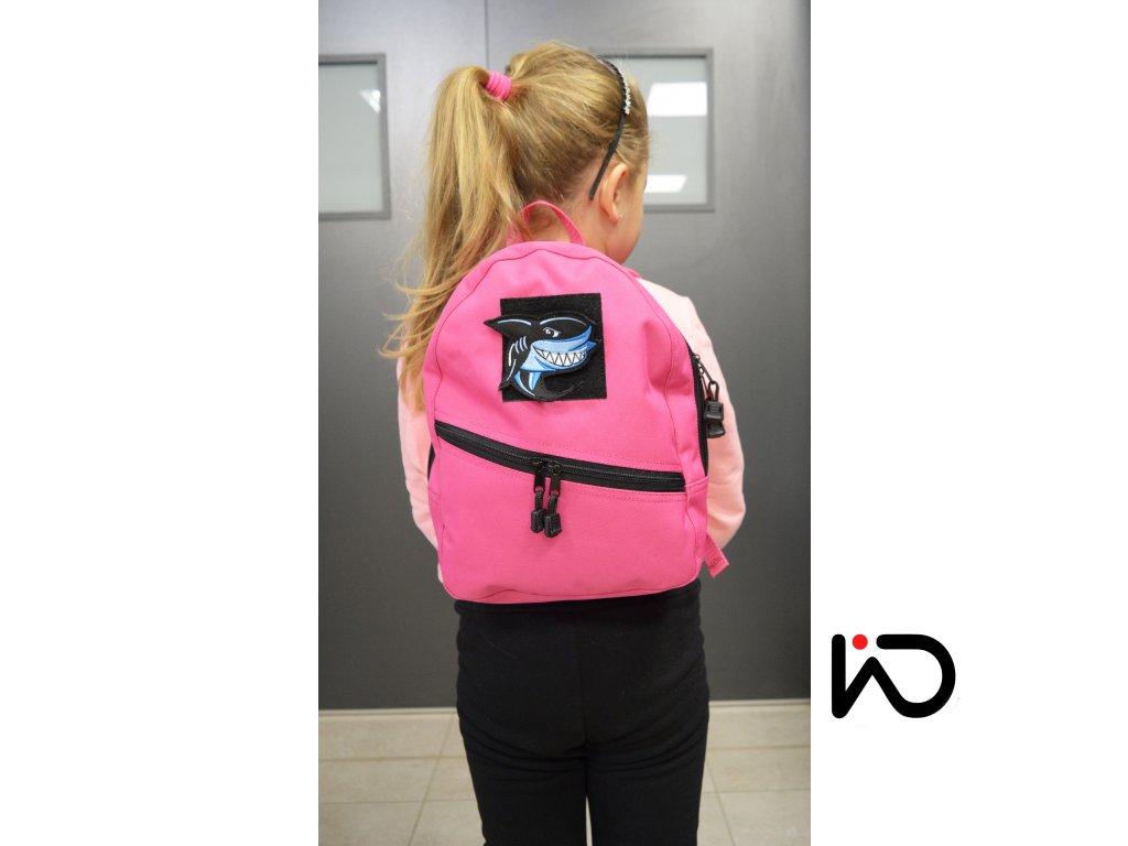 batoh kulaty fialovy fosforeskujici prvky