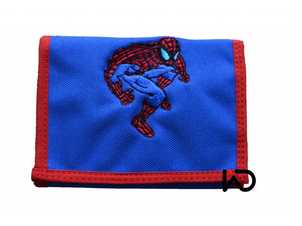 penezenka spiderman modra