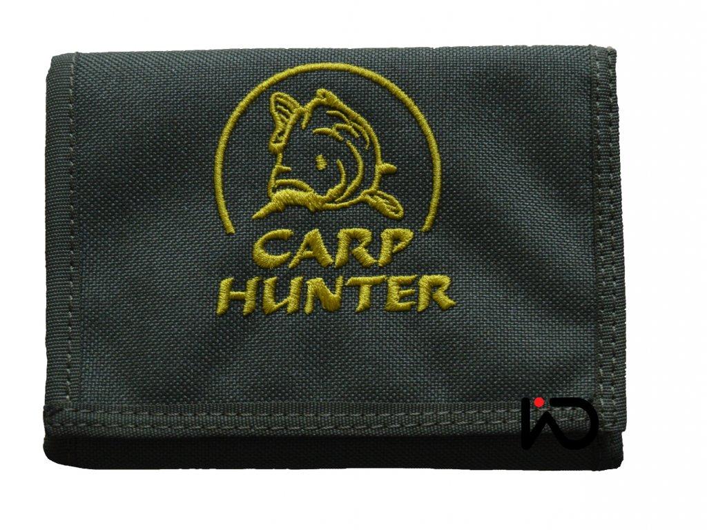 carp hunter penezenka zepredu khaki