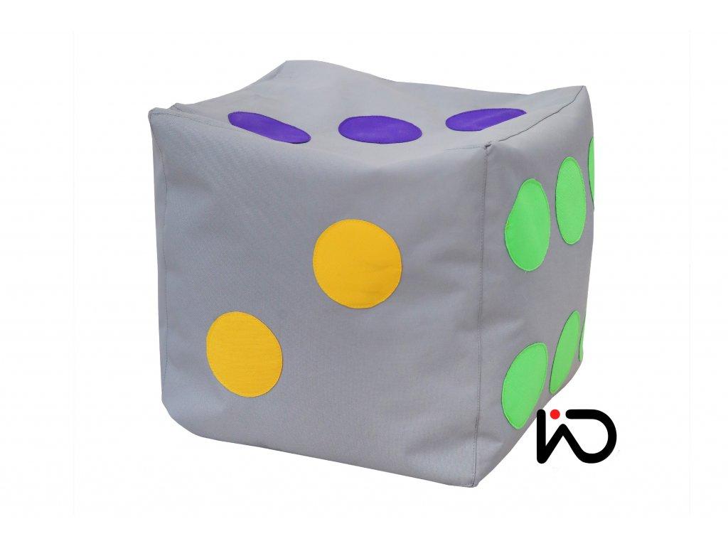 hraci kostka barevna 001