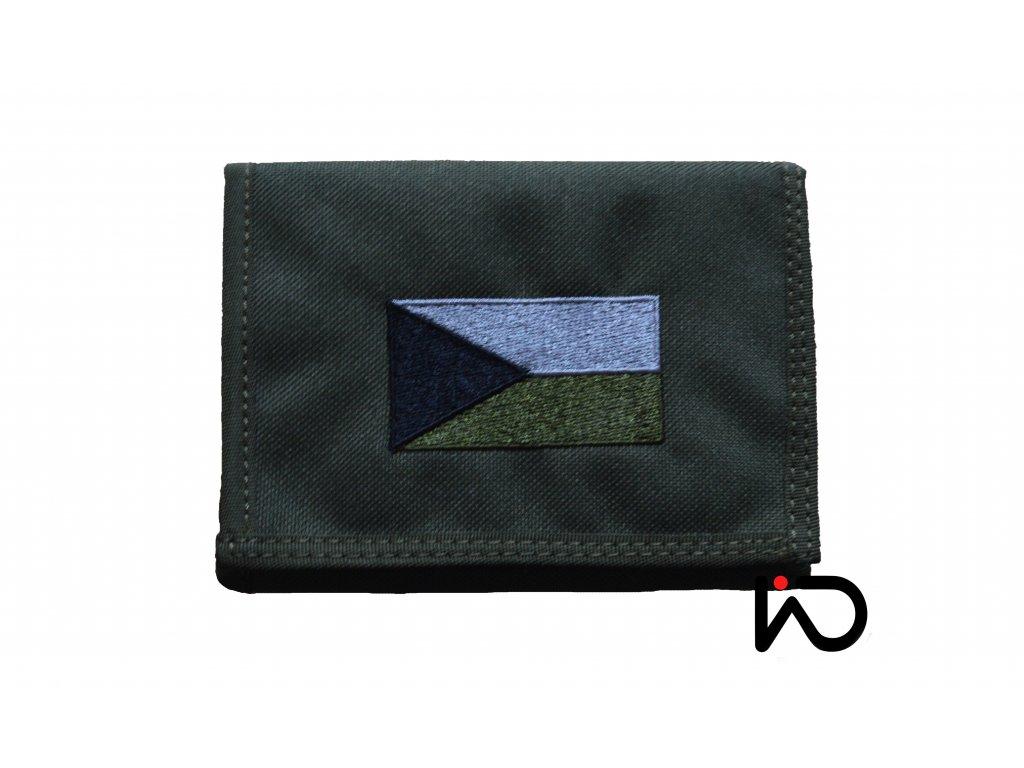 penezenka ceska vlajka khaki