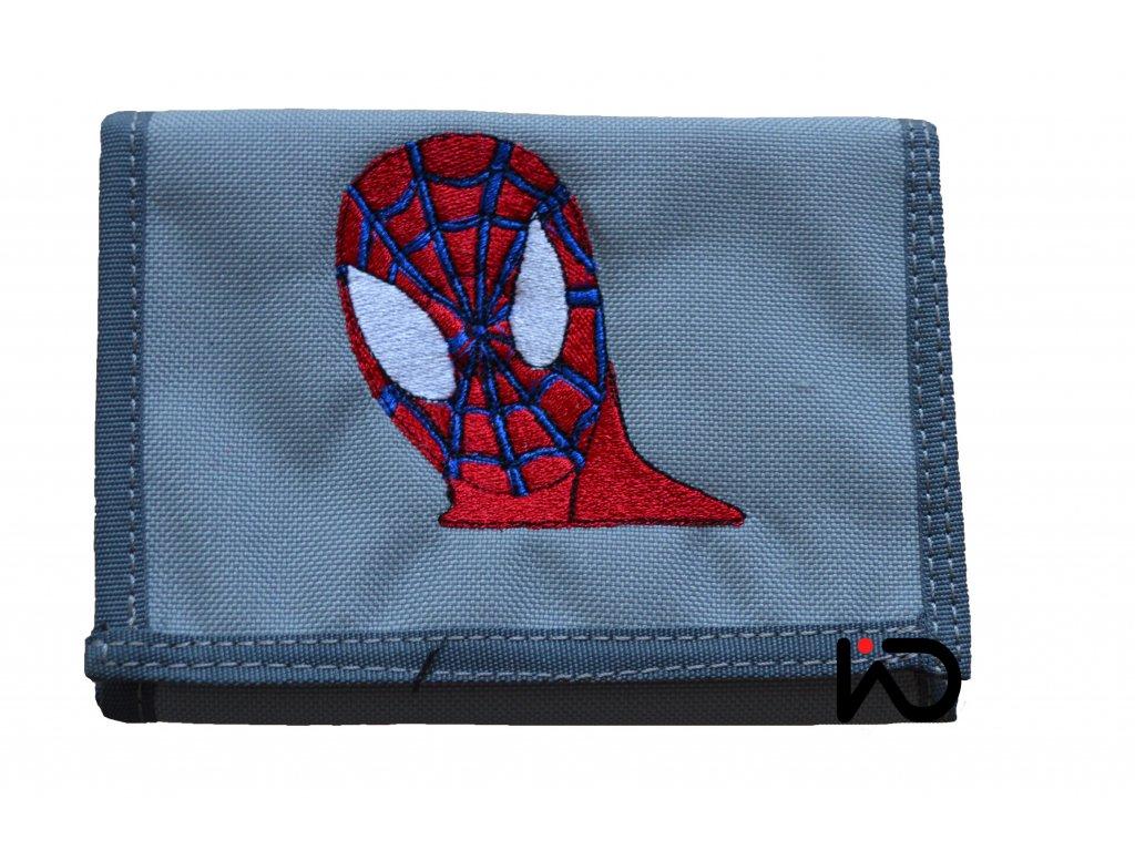 spiderman hlava penezenka