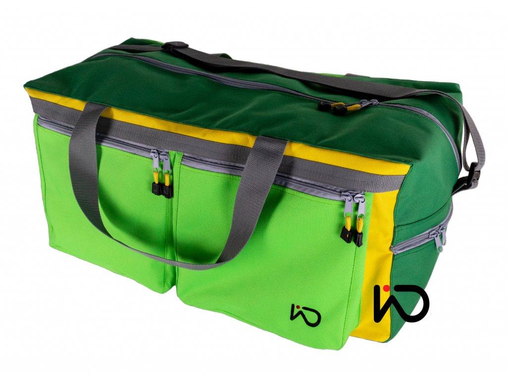 cestovni taska zelena 001