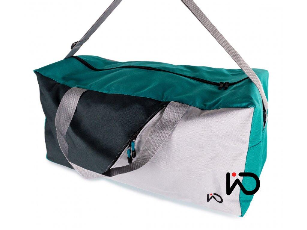 Cestovní taška tyrkysová