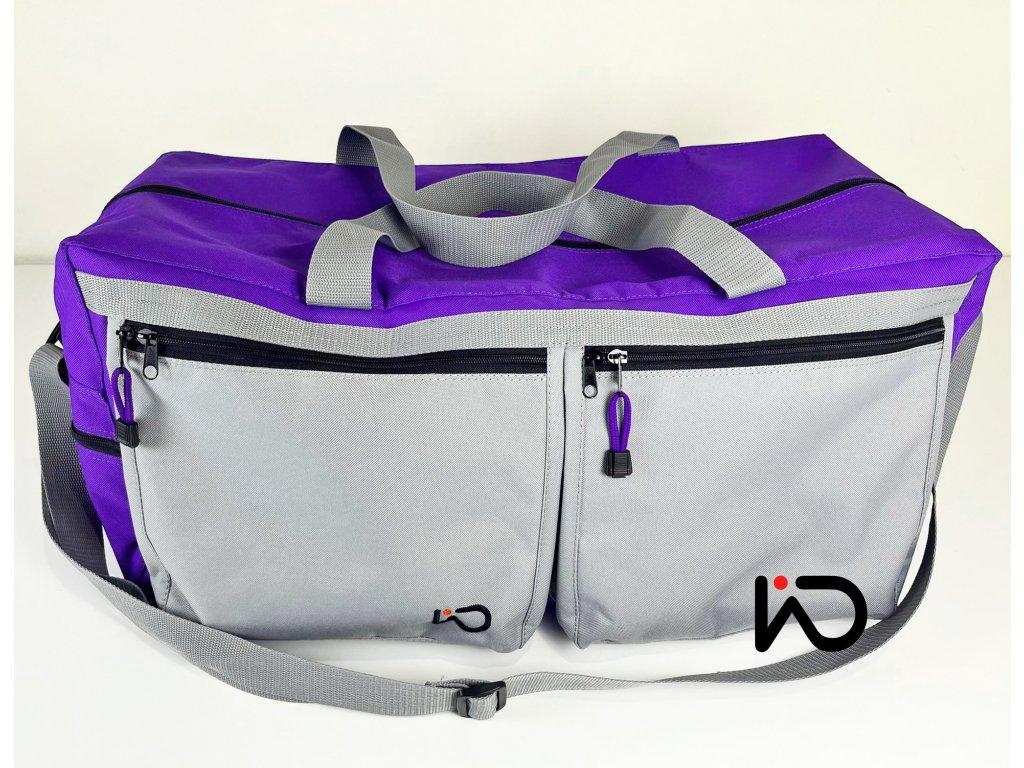 Cestovní taška fialová