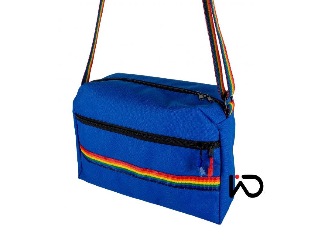 Sportovní kabelka modrá