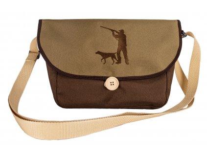 Lovecká taška - Lovec se psem