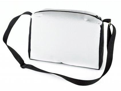 Sportovní kabelka bílá