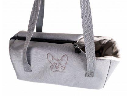 Přepravní taška pro psa - Buldoček