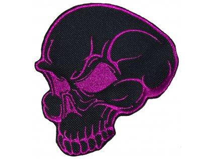 lebka metalická fialová