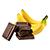 čokoláda - banán