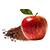jablko - skořice