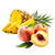ananas - broskev