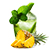 ananas - mojito