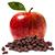 jablko - rozinky