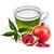 zelený čaj - granátové jablko