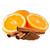 pomeranč - skořice