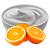 pomeranč - tvaroh