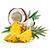 ananas - kokos
