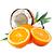pomeranč - kokos