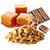 čokoláda - arašíd - karamel