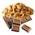 čokoláda - arašíd
