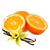 vanilka - pomeranč
