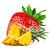 jahoda - ananas