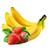 jahoda - banán