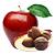 jablko - oříšek