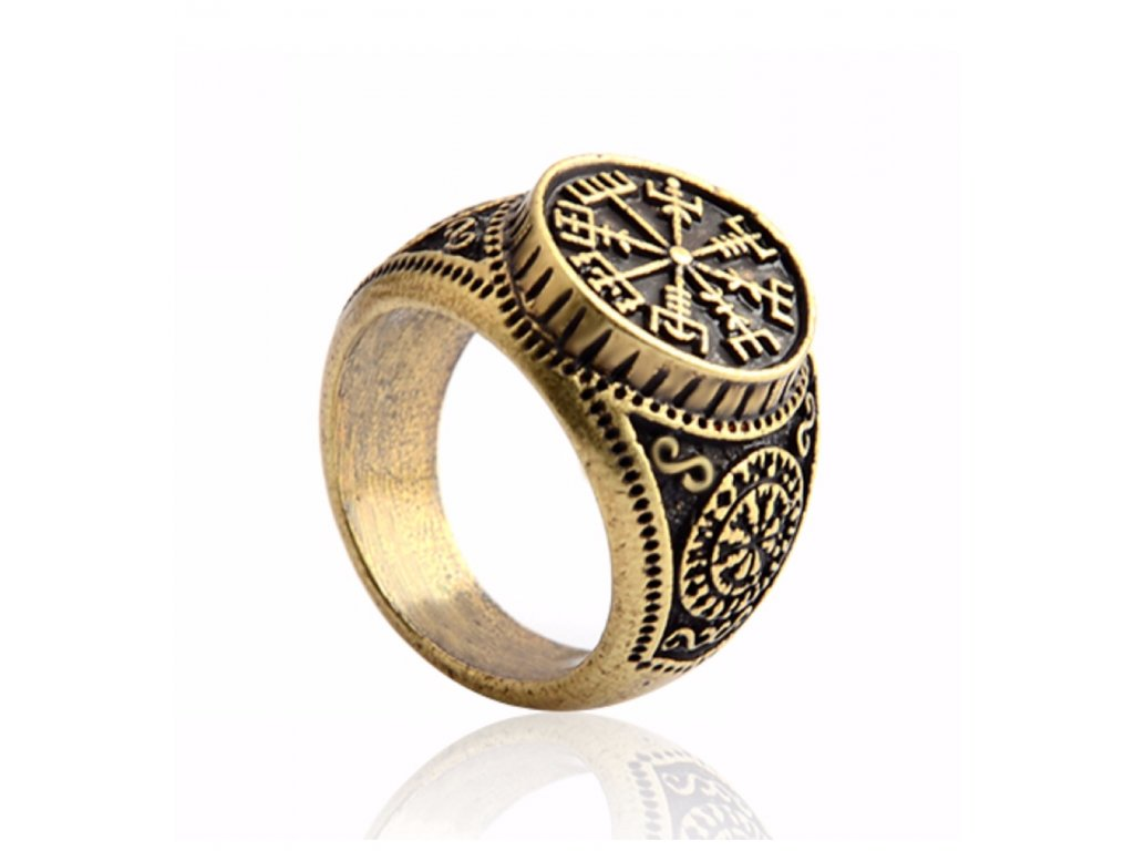 42255 warrior factory aegishjalmur prsten neporazitelnosti gold