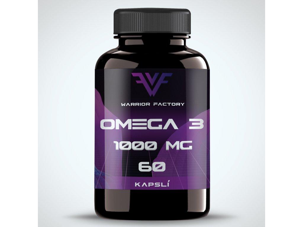 42351 warrior factory omega 3 1000 mg 60 kapsli
