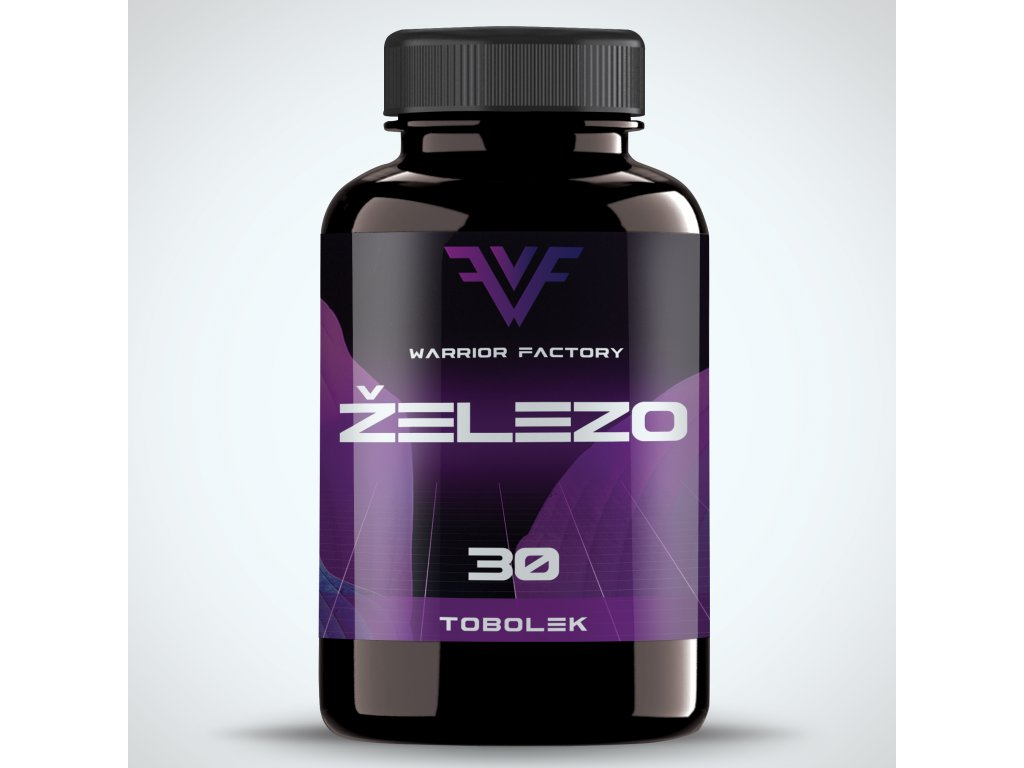42372 warrior factory zelezo 30 tablet